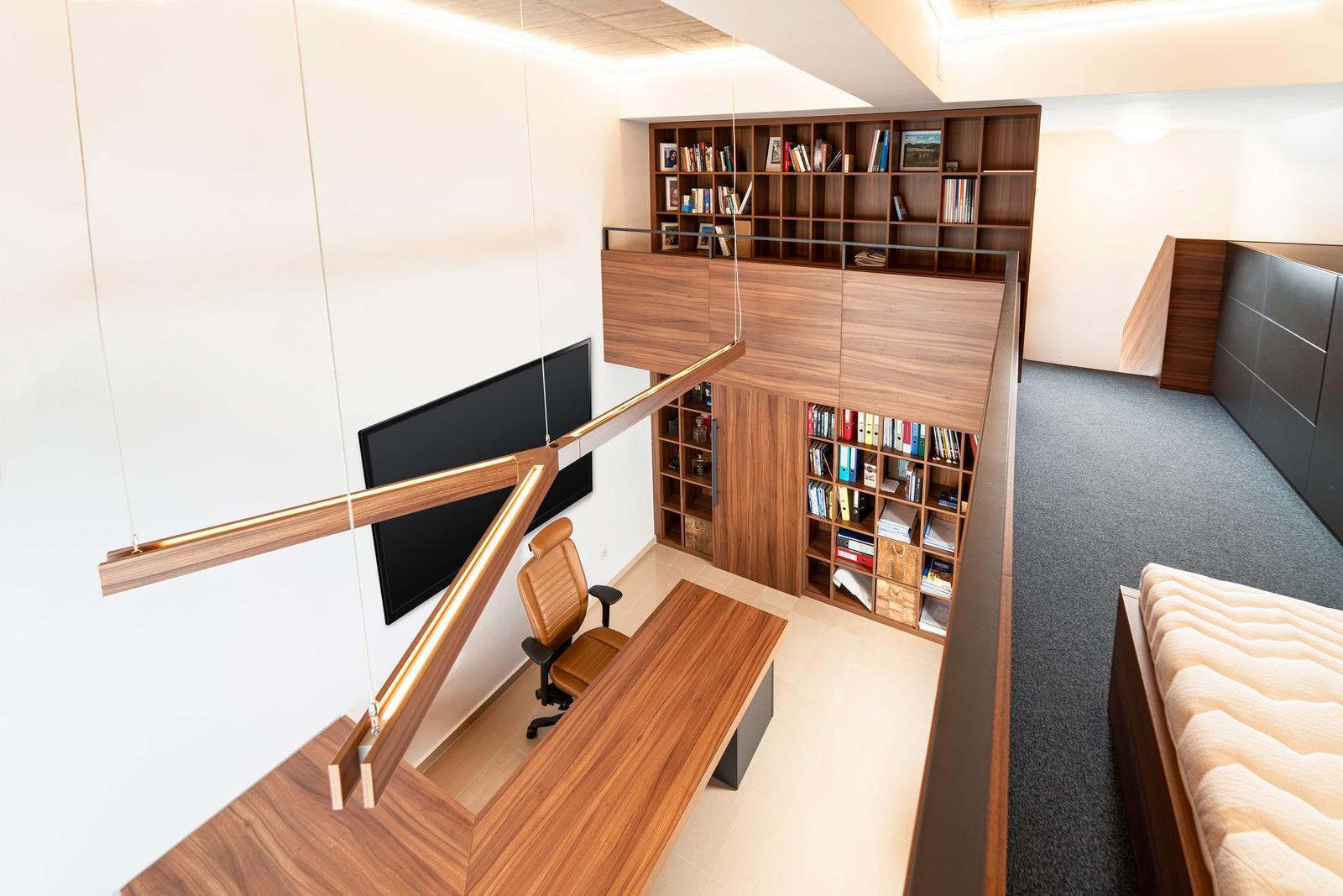 Návrh a realizácia interiéru - reprezentatívna loftová kancelária - Návrh a realizácia interiéru - reprezentatívna loftová kancelária