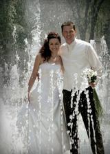 a ešte kúsok osvieženia v horúci svadobný deň