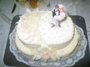 torta bola umeleckým dielom...krásna a chutná!!