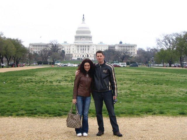 Lucka{{_AND_}}Radko - naša predsvadobná cesta, USA Washington D.C.