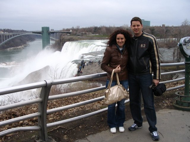 Lucka{{_AND_}}Radko - naša predsvadobná cesta, USA-Kanada, Niagara Falls