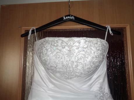 Svadobné šaty na viazanie 38-40 - Obrázok č. 3