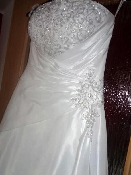 Svadobné šaty na viazanie 38-40 - Obrázok č. 2