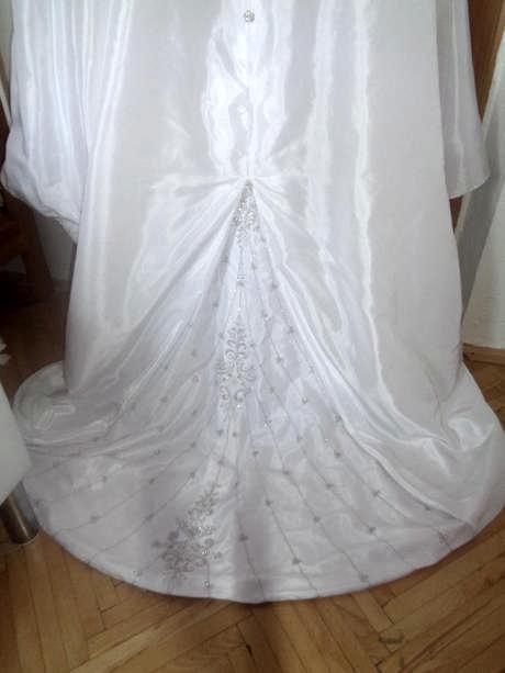 Svadobné šaty na viazanie 38-40 - Obrázok č. 4