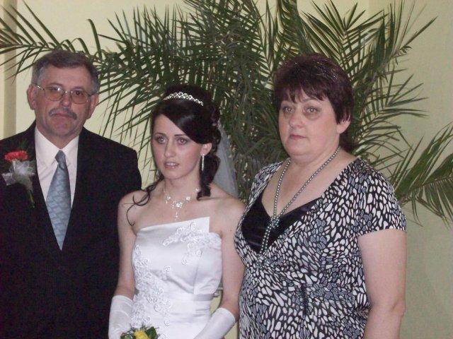 Michaela Mikušová{{_AND_}}Michal Kovačech - S rodicmi