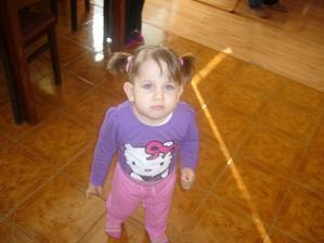 Nasa milovana dcera Natalka uz ma dva roky