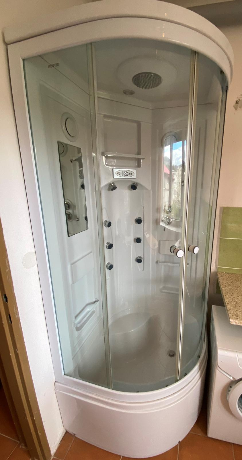 Hydromasážny sprchový kút - Obrázok č. 2