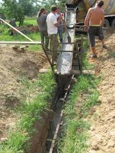 betonovanie zatial najlachšia robota