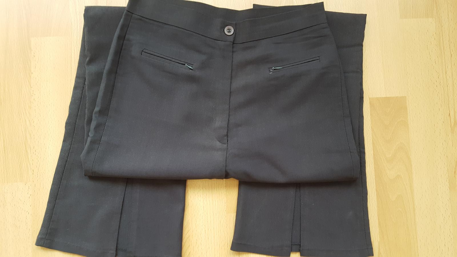 Kalhoty šedé  vel.L - Obrázok č. 1