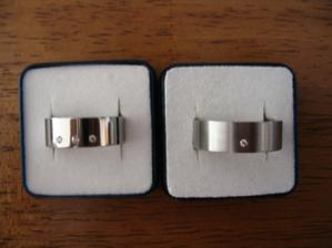 Naše prstýnky - chirurgická ocel