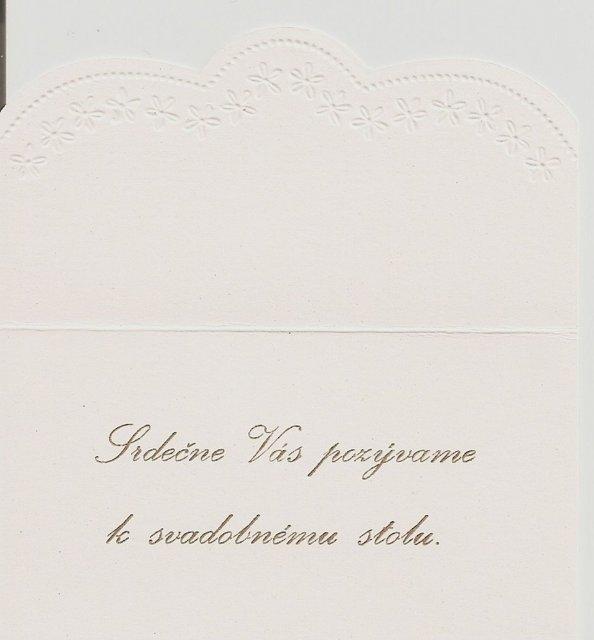 26.04.08 Sylvia a Peter - pozvánka k stolu