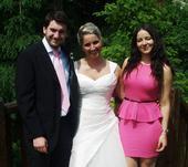 Svatební šaty PRONOVIAS + Ivory závoj téže značky, 42