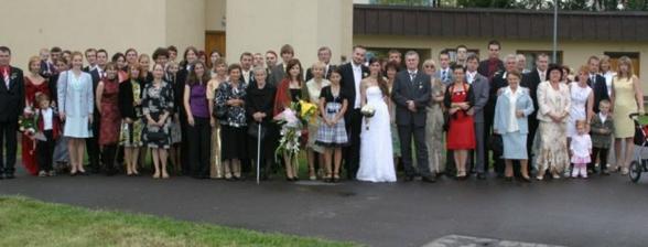 s celou rodinou a priateľmi