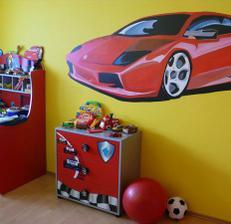 wallpainting v detskej izbe