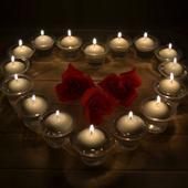Plovoucí svíčky,