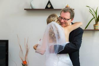...i za velkou pomoc s přípravami svatby včetně finanční :)...