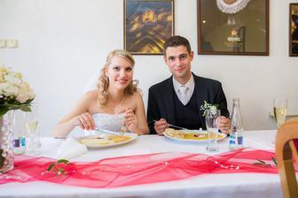 jídlo bylo luxusní :)))