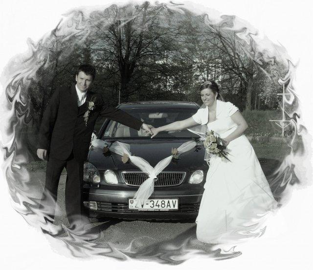 Janka{{_AND_}}Maťko - naše svadobné autíčko