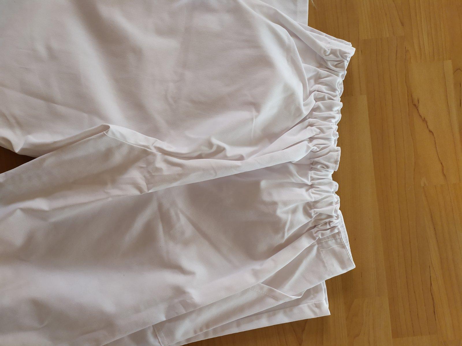 biele pracovné nohavice - Obrázok č. 3