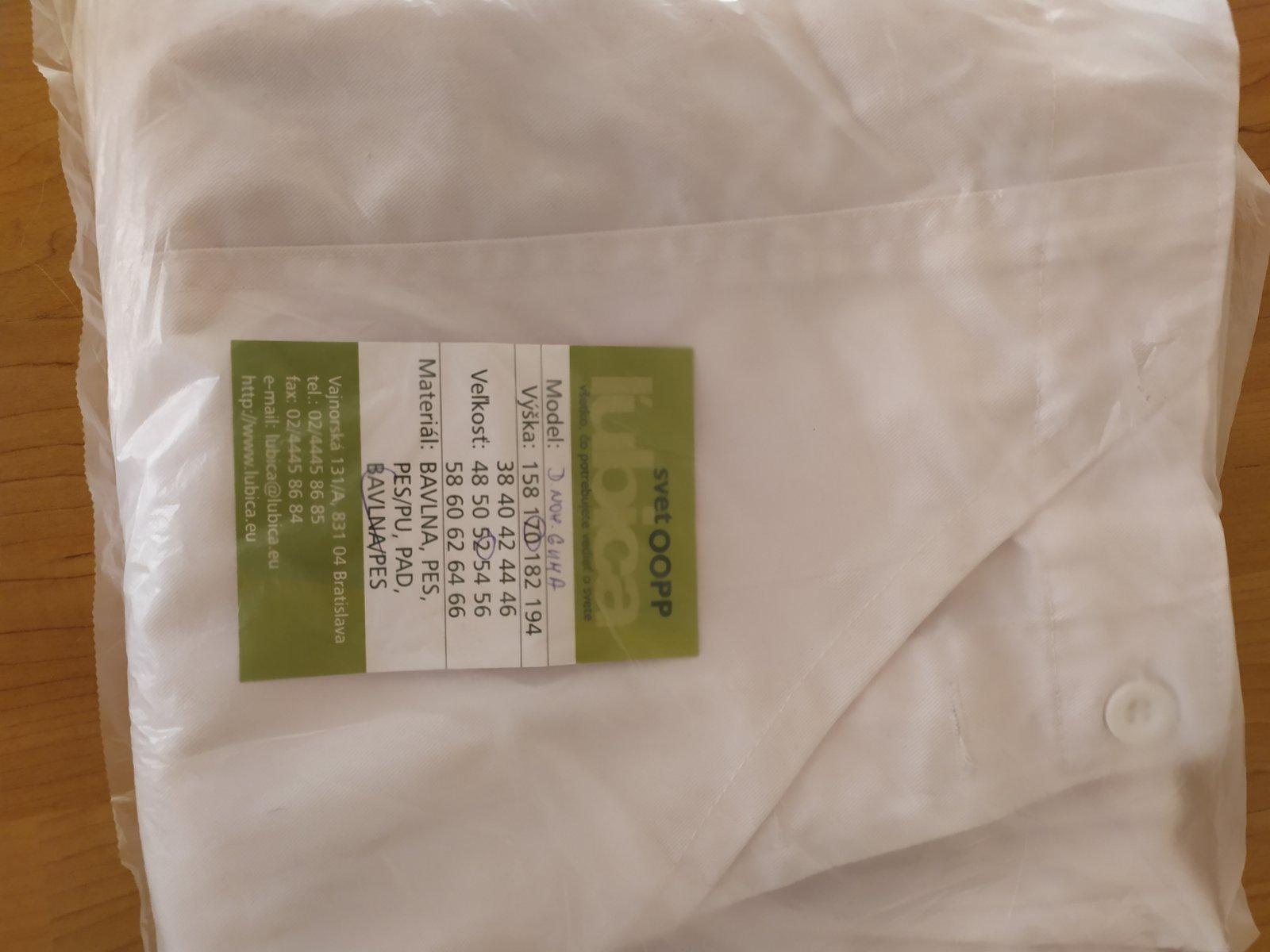 biele pracovné nohavice - Obrázok č. 4