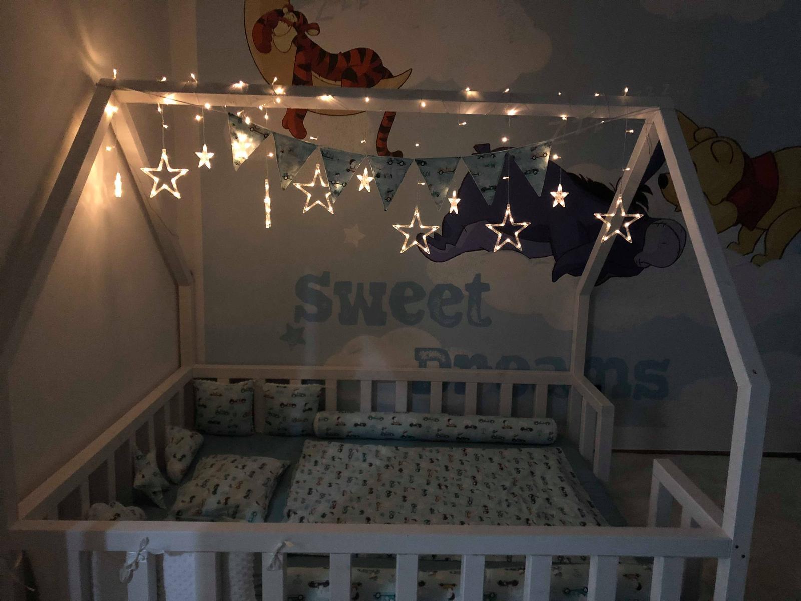 Postele - Detská posteľ - domček