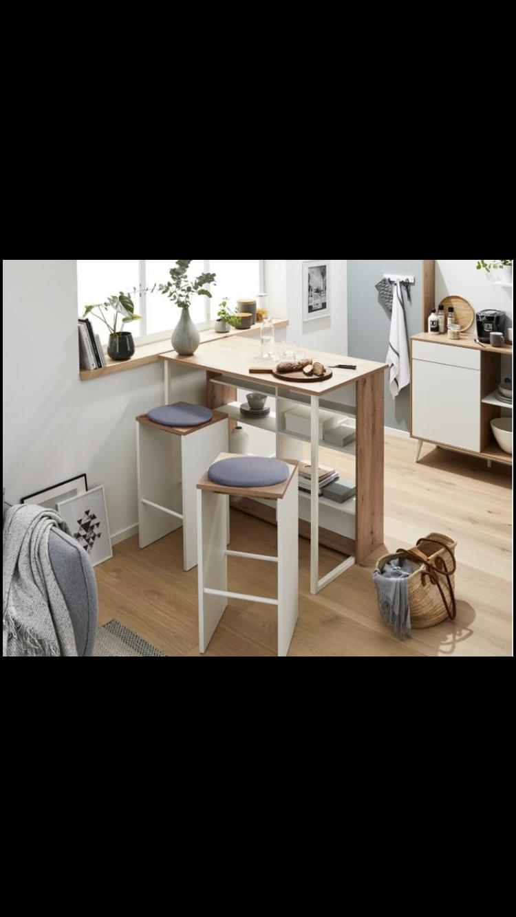 Barový stôl so stoličkami - NOVÝ - Obrázok č. 1