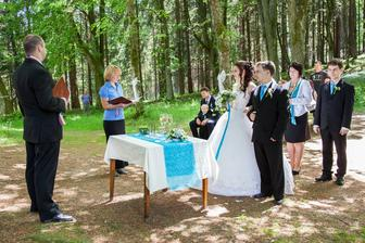 Lesní svatba :-)
