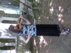 úžasná Maruška nám zahrála Christina perri A thousand Years