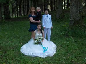 Moji bráškové a mamka