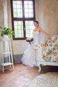 Svatební šaty zavazovací 36-38, 36