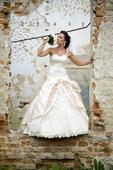Luxusné svadobné šaty , 34