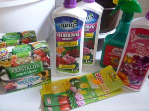 výživa a ochrana pro kytí