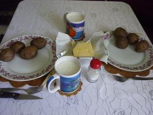 prosté jídlo