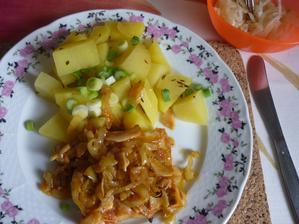 fillé na zelenině