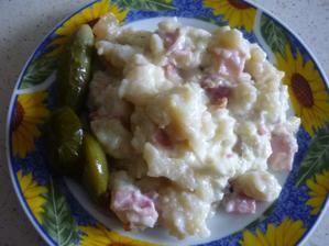 vzpomínka na Oravu- slovenské halušky- dobrůtka k večeři