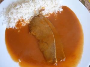 rajská omáčka  s rýží