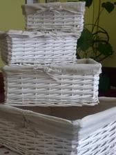 Košíčky z Bonami  2 sady - 8 košíků- doma