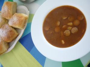 frankfurtská polévka k buchtám