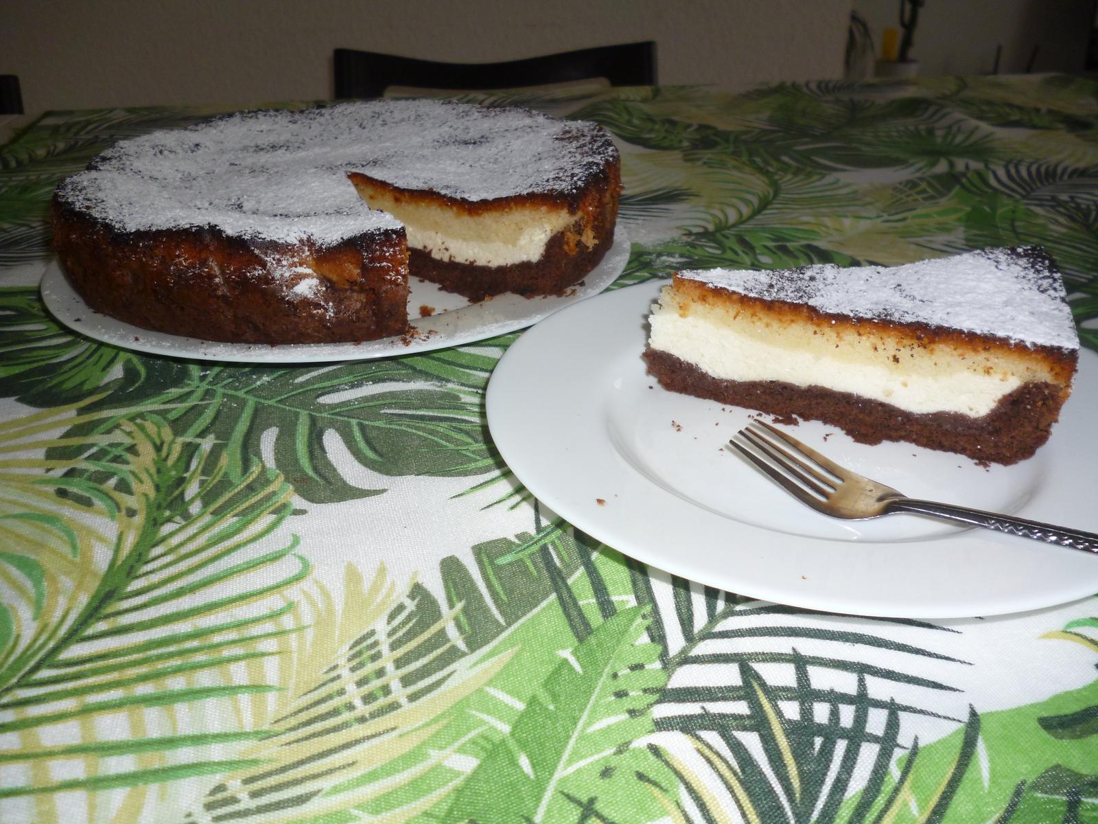 Což dát si něco k snědku - tříbarevný koláč
