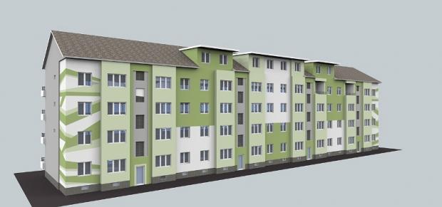 bruncak - Návrh fasády bytového domu