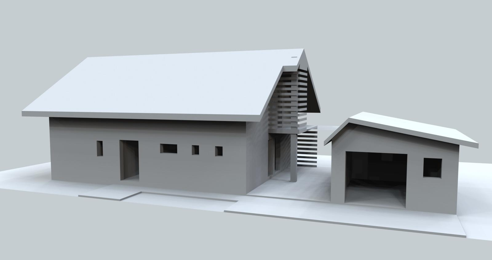 Prebiehajuce projekty - Stúdia návrhu rodinného domu
