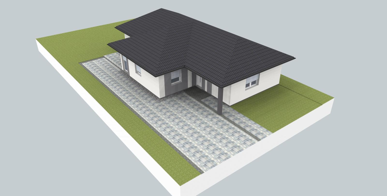 Prebiehajuce projekty - Návrh fasády