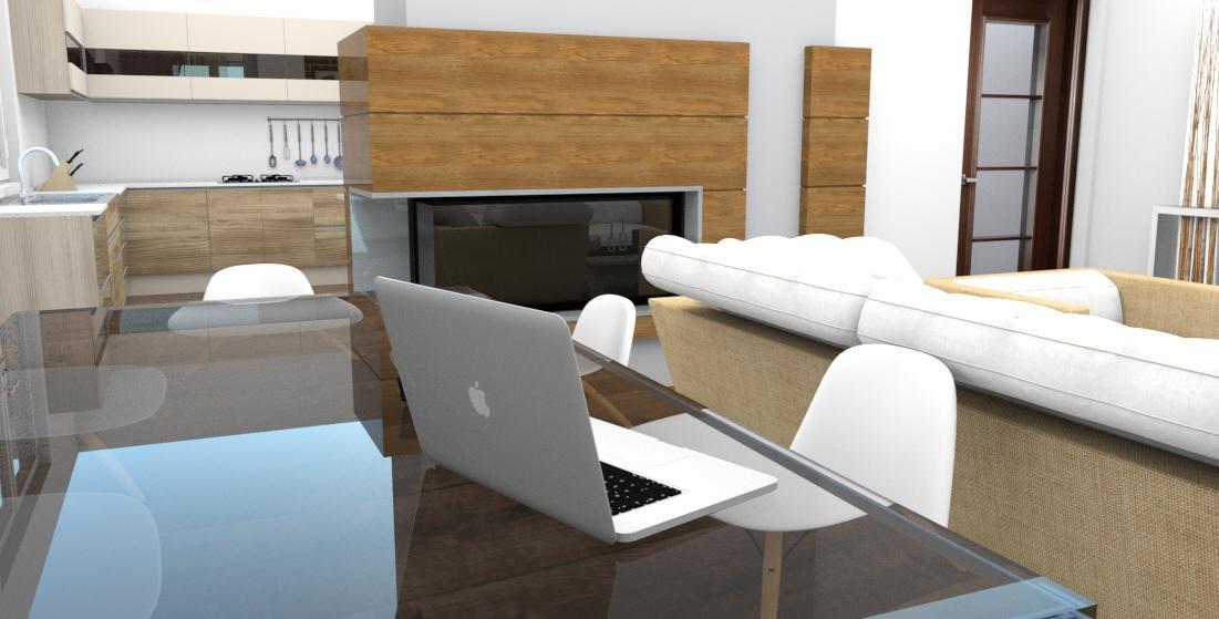 Prebiehajuce projekty - Návrh rekonštrukcie podlažia rodinného domu