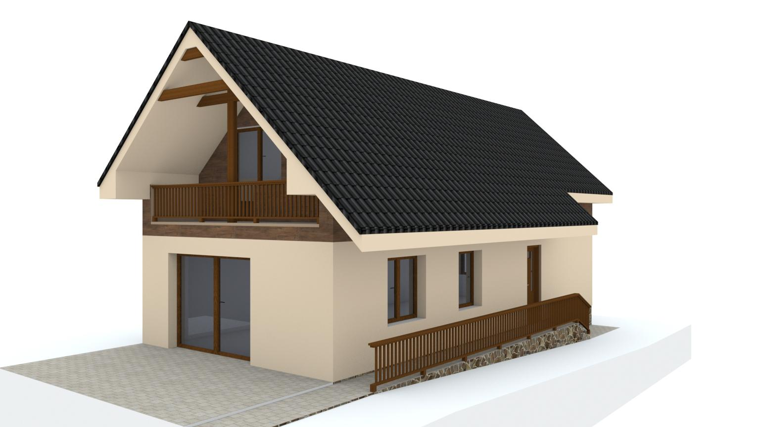 Návrh fasády rodinného domu - Obrázok č. 12