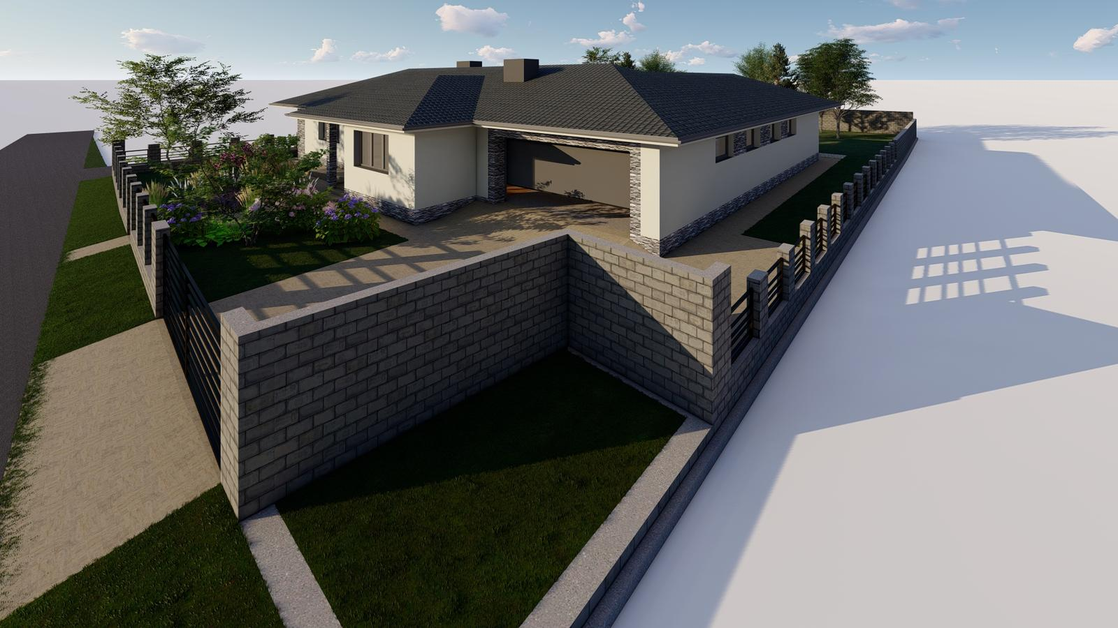 Návrh fasády rodinného domu - Obrázok č. 3