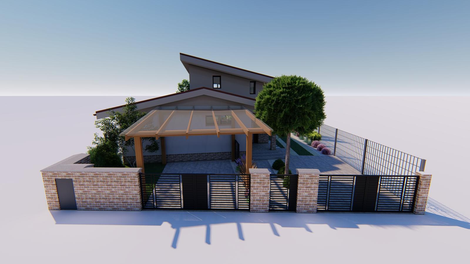 Návrh záhrady rodinného domu. - Obrázok č. 2