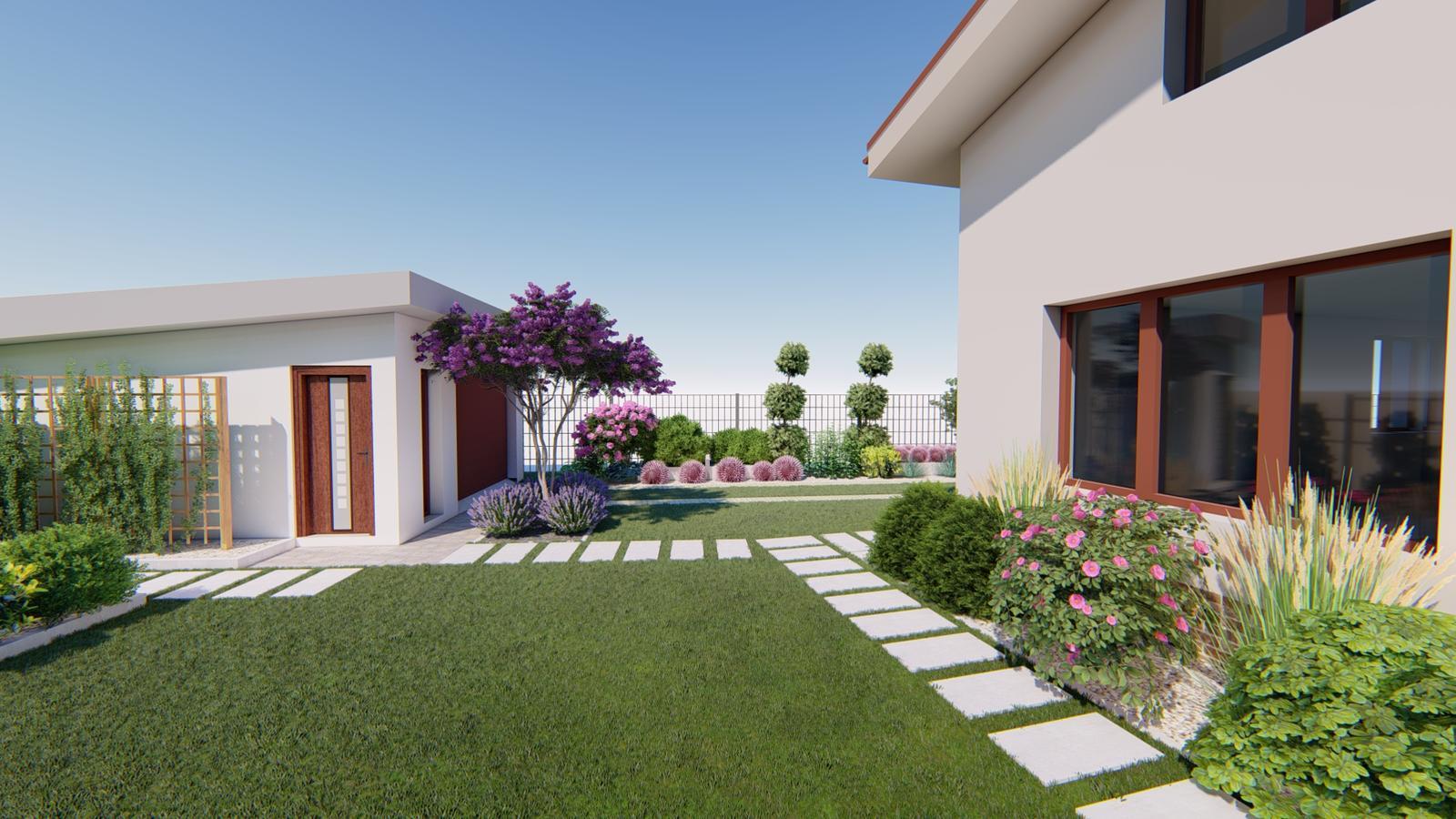 Návrh záhrady rodinného domu. - Obrázok č. 6