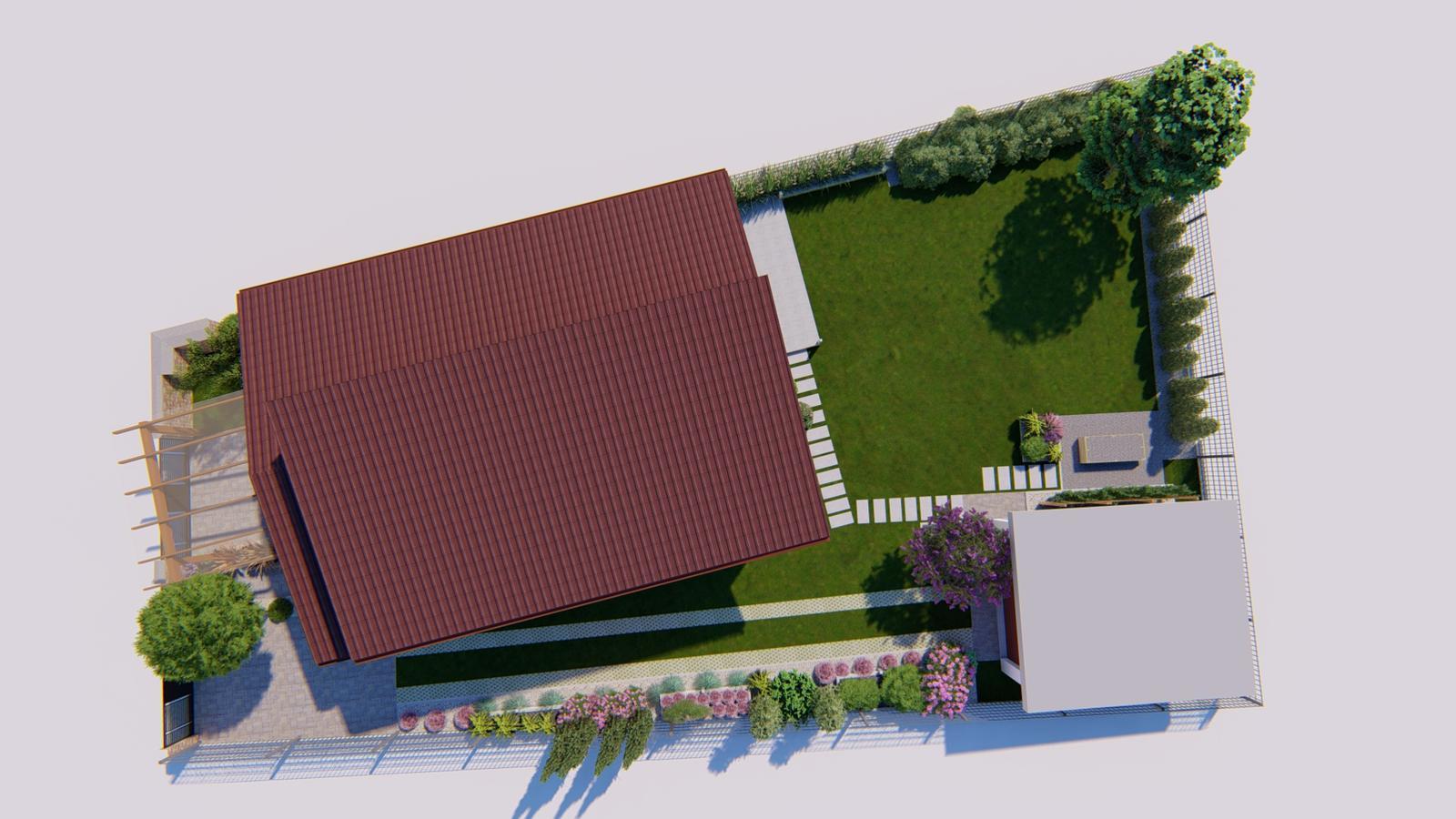 Návrh záhrady rodinného domu. - Obrázok č. 8