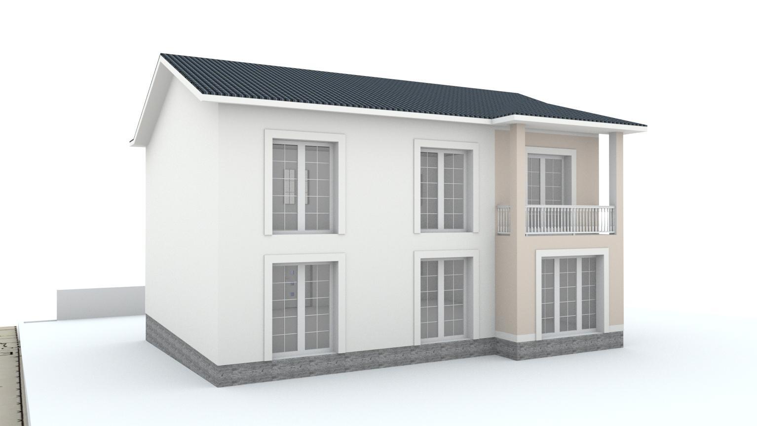 Návrh fasády rodinného domu Bratislava - Obrázok č. 10