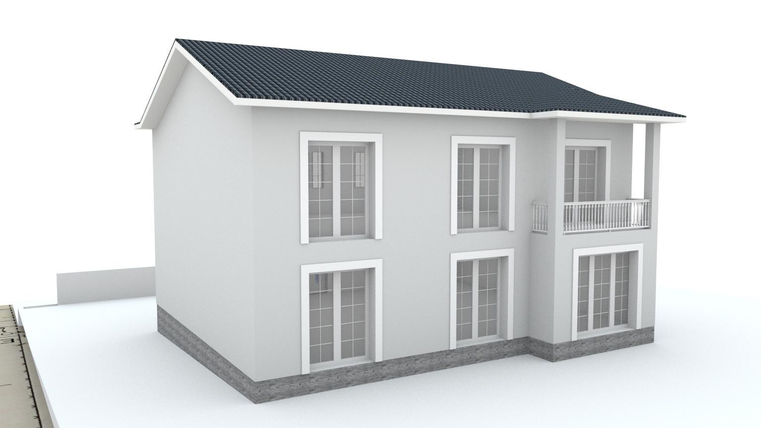 Návrh fasády rodinného domu Bratislava - Obrázok č. 11